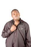 Γιατρός αφροαμερικάνων στοκ εικόνες
