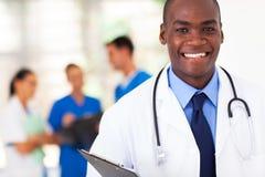 Γιατρός αφροαμερικάνων Στοκ εικόνες με δικαίωμα ελεύθερης χρήσης