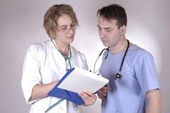 γιατρός γύρω από το s Στοκ φωτογραφία με δικαίωμα ελεύθερης χρήσης