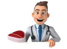 Γιατρός διασκέδασης διανυσματική απεικόνιση