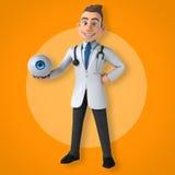 Γιατρός διασκέδασης ελεύθερη απεικόνιση δικαιώματος