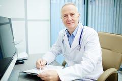 γιατρός επιτυχής Στοκ Εικόνες