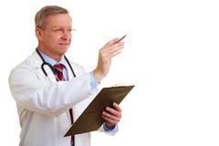 γιατρός ευτυχής ο στρογ Στοκ εικόνα με δικαίωμα ελεύθερης χρήσης