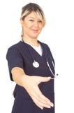 γιατρός ευτυχής Στοκ Εικόνα