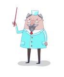 Γιατρός, διανυσματική απεικόνιση Στοκ Εικόνα