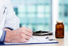 Γιατρός και εκθέσεις Στοκ Εικόνες