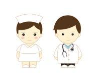 γιατρός κινούμενων σχεδίων Στοκ Εικόνες