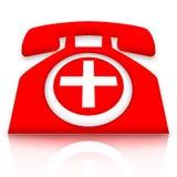 γιατρός κλήσης Στοκ εικόνες με δικαίωμα ελεύθερης χρήσης