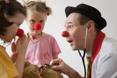 γιατρός κλόουν Στοκ Εικόνες