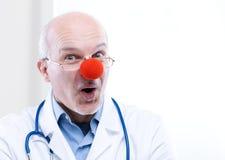 Γιατρός κλόουν Στοκ εικόνα με δικαίωμα ελεύθερης χρήσης