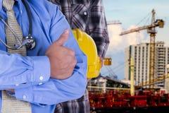 Γιατρός με την εφαρμοσμένη μηχανική Στοκ εικόνα με δικαίωμα ελεύθερης χρήσης