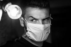 Γιατρός μυστηρίου Στοκ φωτογραφίες με δικαίωμα ελεύθερης χρήσης