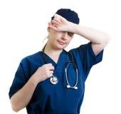 γιατρός που κουράζεται στοκ εικόνες