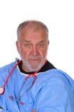 γιατρός που φαίνεται αστ&ep Στοκ εικόνα με δικαίωμα ελεύθερης χρήσης