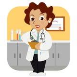 Γιατρός σε Uniform_stock Στοκ εικόνα με δικαίωμα ελεύθερης χρήσης