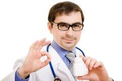 Γιατρός στα γυαλιά Στοκ Φωτογραφία