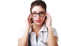 Γιατρός στα γυαλιά Στοκ Εικόνες