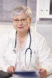 Γιατρός στην αρχή Στοκ εικόνα με δικαίωμα ελεύθερης χρήσης