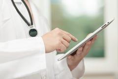 Γιατρός στην εργασία Στοκ εικόνα με δικαίωμα ελεύθερης χρήσης