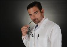 γιατρός στοχαστικός Στοκ φωτογραφία με δικαίωμα ελεύθερης χρήσης