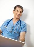 γιατρός φιλικός Στοκ Εικόνα