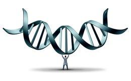 Γιατρός DNA διανυσματική απεικόνιση