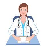 Γιατρός Famale Στοκ Εικόνα