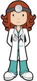 γιατρός girly Στοκ Φωτογραφία
