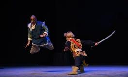 """Για να συλλάβει τον ηγέτη της """"Taking τίγρης Montain οπερών ληστής-Πεκίνο από Strategy† Στοκ εικόνες με δικαίωμα ελεύθερης χρήσης"""