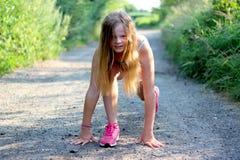 Για να τρέξετε, πάρτε το σύνολο, πηγαίνει Στοκ Εικόνα