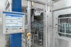 Για την παραγωγή του πλαστικού εργοστασίου μπουκαλιών Στοκ Εικόνα