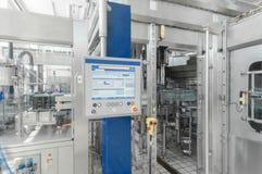 Για την παραγωγή του πλαστικού εργοστασίου μπουκαλιών Στοκ Φωτογραφίες