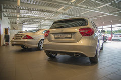 Για την πώληση, α-κατηγορία Mercedes-benz Στοκ Φωτογραφίες