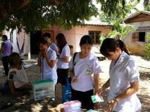 Για την ταϊλανδική υγεία Στοκ φωτογραφίες με δικαίωμα ελεύθερης χρήσης