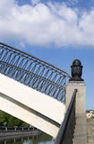 Για τους πεζούς γέφυρα αψίδων Στοκ φωτογραφίες με δικαίωμα ελεύθερης χρήσης