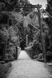 Για τους πεζούς γέφυρα καλωδίων Στοκ φωτογραφία με δικαίωμα ελεύθερης χρήσης