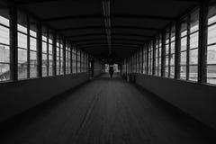 Για τους πεζούς γέφυρα στο Βερολίνο Στοκ Εικόνα
