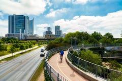 Για τους πεζούς γέφυρα του Lamar Στοκ φωτογραφία με δικαίωμα ελεύθερης χρήσης