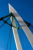 Για τους πεζούς γέφυρα στοκ φωτογραφίες