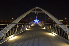 Για τους πεζούς γέφυρα Tempe Στοκ Εικόνες