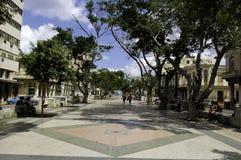 Για τους πεζούς οδός στην Αβάνα, Κούβα στοκ εικόνα με δικαίωμα ελεύθερης χρήσης