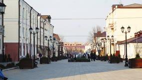 Για τους πεζούς οδός σε Nalchik Στοκ εικόνες με δικαίωμα ελεύθερης χρήσης