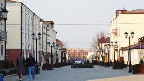 Για τους πεζούς οδός σε Nalchik Στοκ φωτογραφία με δικαίωμα ελεύθερης χρήσης