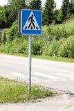 Για τους πεζούς πέρασμα Στοκ φωτογραφίες με δικαίωμα ελεύθερης χρήσης