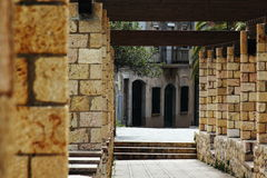 Για τους πεζούς περίπατος Tarragona, Ισπανία Στοκ Φωτογραφία