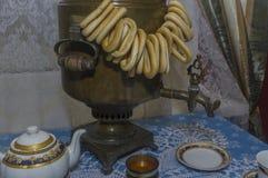 Για το ήρεμο τσάι που πίνει 2 Στοκ Εικόνα