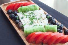 Για το καλό φυσικό πιάτο προγευμάτων πρωινού στοκ φωτογραφία