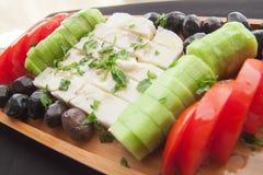 Για το καλό φυσικό πιάτο προγευμάτων πρωινού Στοκ Φωτογραφίες
