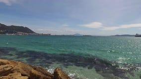 Γιβραλτάρ, UK, Ανδαλουσία, Ισπανία - 16 Απριλίου 2016: Ακρωτήριο του Γιβραλτάρ φιλμ μικρού μήκους