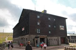 Γιγαντιαία βουνά Τσεχιών Lucni bouda- Στοκ εικόνες με δικαίωμα ελεύθερης χρήσης